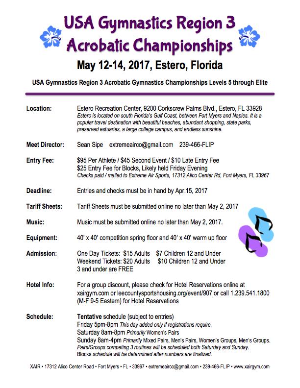 Region 3 Championships @ Estero Recreation Center | Estero | Florida | United States