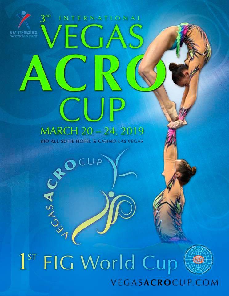 Vegas Acro Cup @ Rio Hotel, Casino and Convention Center | Las Vegas | Nevada | United States